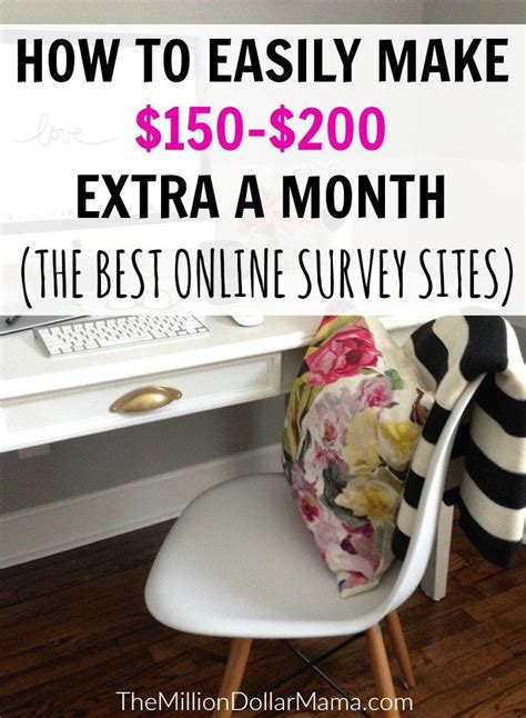 Can You Really Make Money From Online Surveys - best 25 online survey ideas on pinterest surveys to make money online survey sites