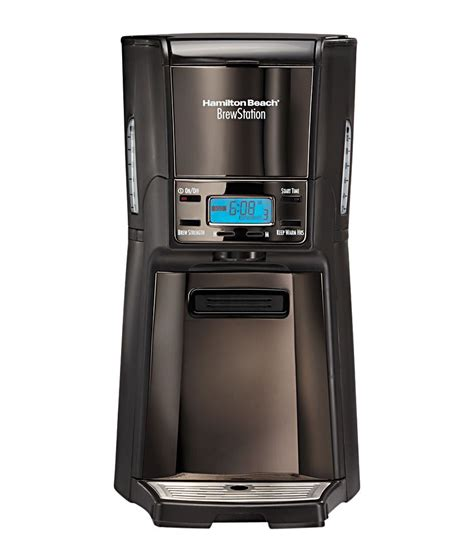 Dispenser Coffee Maker hamilton 48467 in brewstation 12 cup dispensing coffee maker black metal price in