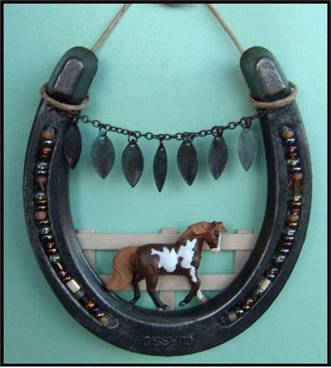 horseshoe crafts for pin by blanka nowak on diy easy and cool do it yourself