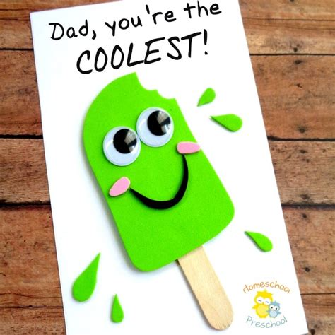 preschool fathers day cards to make easy diy fathers day craft that your can make