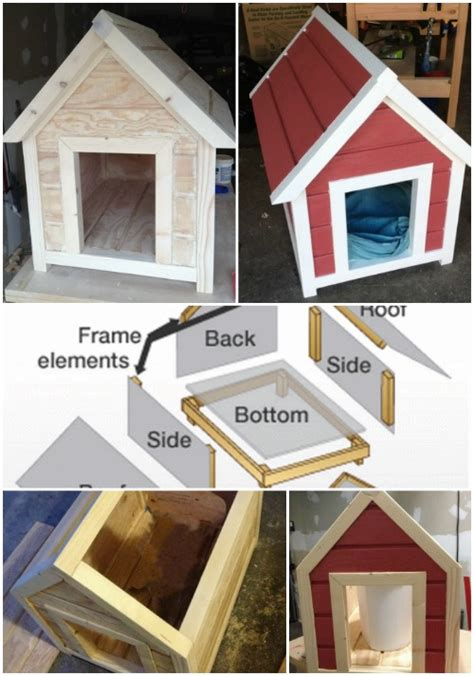 easy dog house plans 15 brilliant diy dog houses with free plans for your furry companion diy crafts