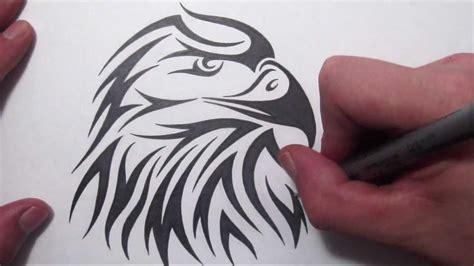 american tribal tattoo how to draw an american eagle tribal