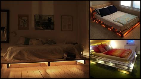 Boys Bedroom Ideas Sports making this illuminated pallet bed is as easy as 1 2 3