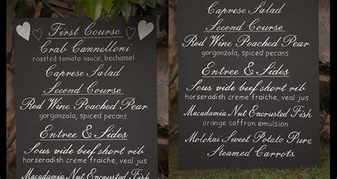 Wedding Chalkboard Font by Wedding Chalkboard Signs Vancouver S Wedding Chalkboard