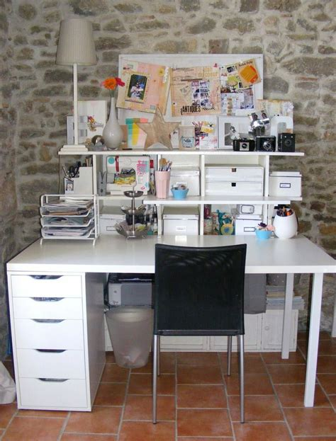 101 Best Images About Craft Desk Ideas On Pinterest Craft Desk Organization Ideas