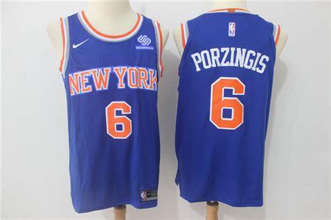 Jersey Basket Nba Gametime New York City Porzingis Putih cheap new york knicks jerseys on sale nike nba 2017 jerseys wholesale