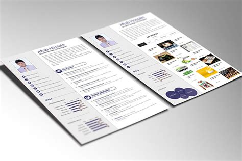 free 2 pages resume template free resume template