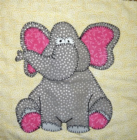 patterns for applique elephant pdf applique nursery quilt pattern zoo or or
