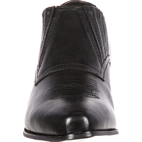 durango s black western shoe boots style rd3520