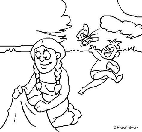 imagenes de la familia maya dibujo de madre e hijo mayas para colorear dibujos net
