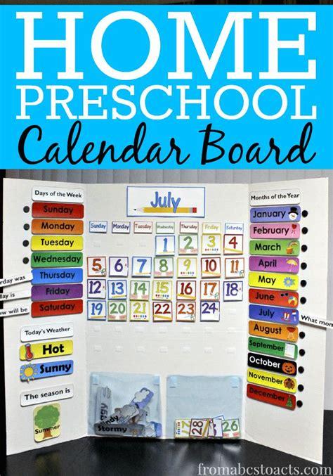 Calendar For Home 25 Best Ideas About Preschool Calendar On