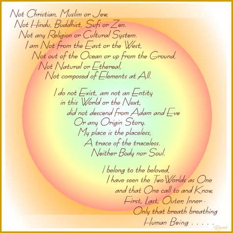 rumi poetry rumi quotes on faith quotesgram