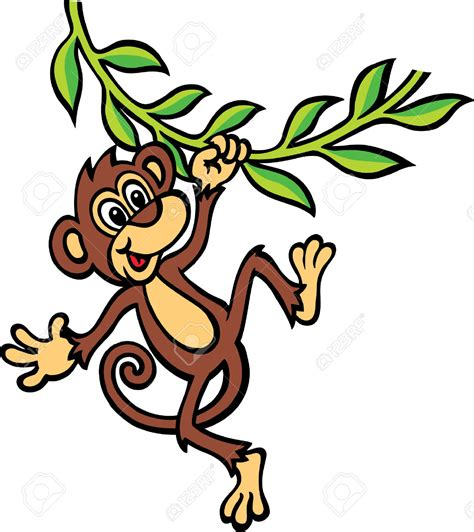 cartoon monkey swinging on a vine cartoon monkey swinging on a vine adultcartoon co