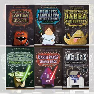 Origami Yoda Book Series - tom angleberger collection origami yoda series 6 books set