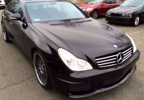 find used 2007 mercedes benz cls class cls550 4dr black on