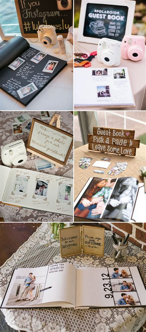 Wedding Guest Photos Ideas by 10 Diy Unique Guest Book Ideas For Weddings