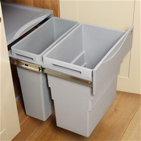 kitchen cabinet bin a guide to waste bins for solid oak kitchens solid wood