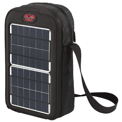 Picard Solar Bag Keeps Gadgets Juiced Up by Voltaic System Switch Sling Bag With Solar Charger Gadgetsin