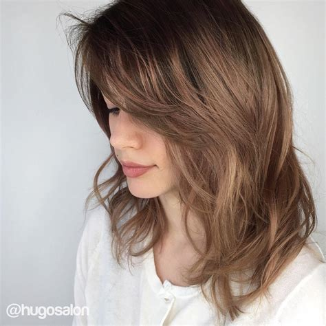 layered hairstyles 70 brightest medium length layered haircuts and hairstyles