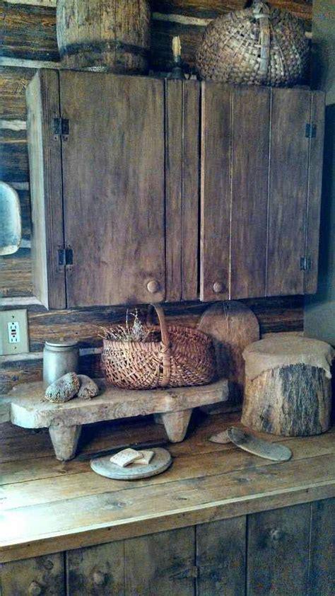 primitive kitchen furniture best 25 primitive cabinets ideas on