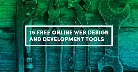free images 15 free web design and development tools