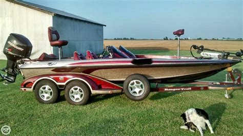 used ranger bass boats for sale in oklahoma 2006 used ranger boats z 20 comanche bass boat for sale