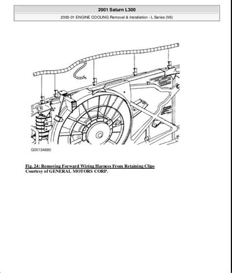 2000 01 engine cooling 2001 saturn l series wiring diagram