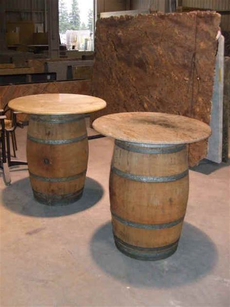Wine Barrel Patio Table 17 Best Images About Wine Barrels On Wine Barrel Table Vintage And Whiskey Barrels