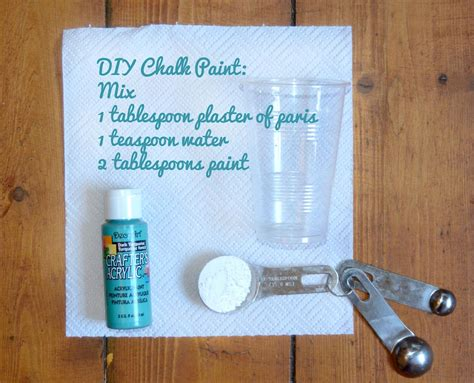 diy chalk paint troubleshooting diy chalk paint with plaster of can be made in any
