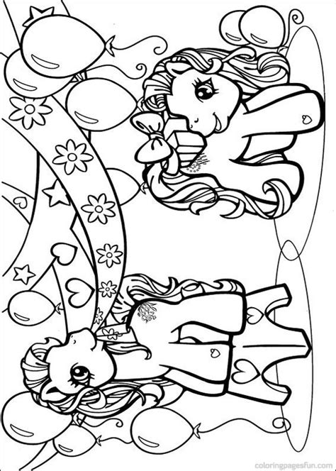 my little pony birthday coloring page my little pony coloring pages coloring pages for girls
