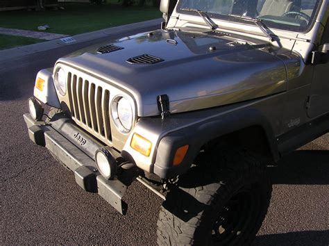 jeep hood vents hood louvers install jeep tj wrangler vents louvres