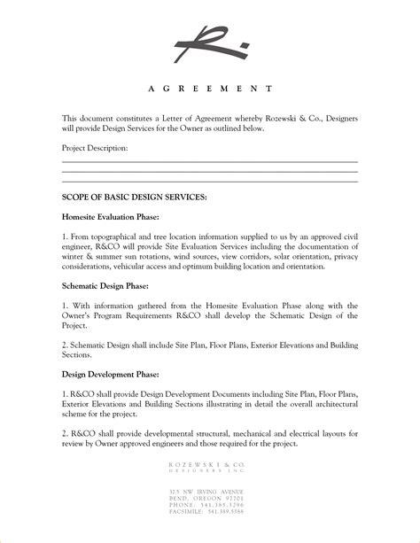 Interior Design Sample Contract