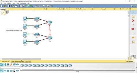 cisco packet tracer tutorial subnetting 8 3 1 4 9 3 1 4 packet tracer implementing a subnetted