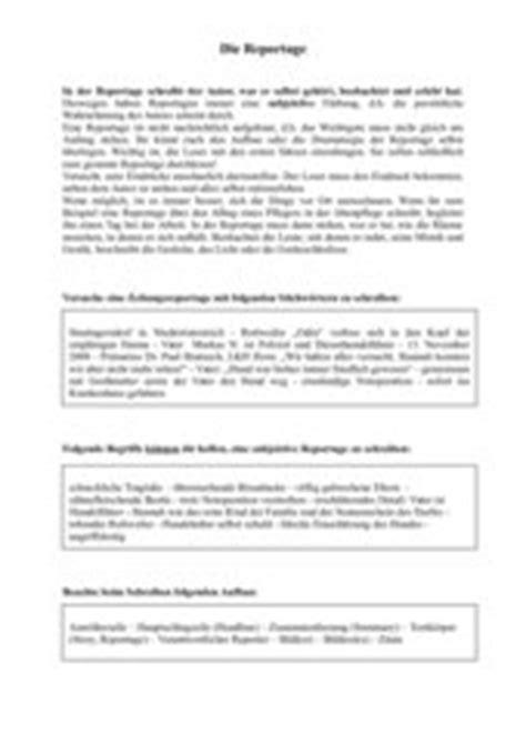 bericht reportage schreiben 4teachers lehrproben unterrichtsentw 252 rfe und unterrichtsmaterial f 252 r lehrer und referendare