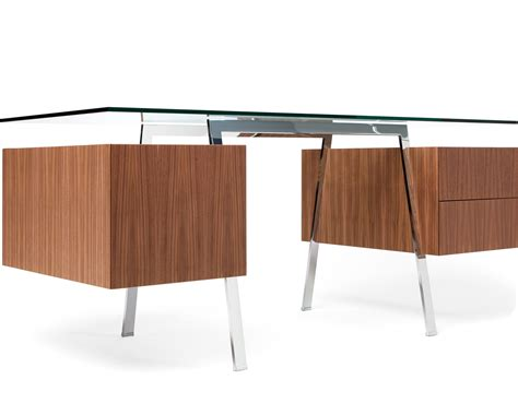 Homework 2 Desk With Glass Top Hivemodern Com Desk Glass Top