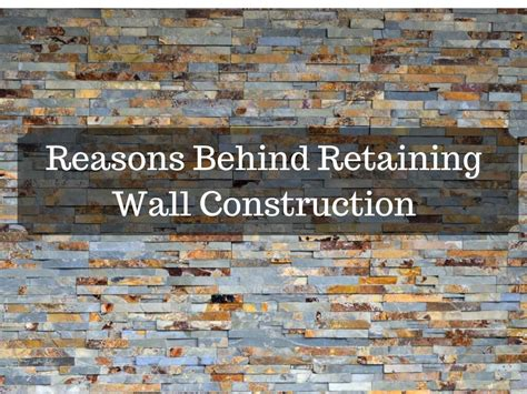 reasons behind retaining wall construction interior design design news and architecture trends