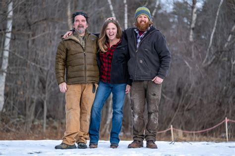 maine cabin masters show  diy network kennebec cabin