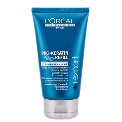 Conditioner Loreal l oreal expert pro keratin refill leave in conditioner