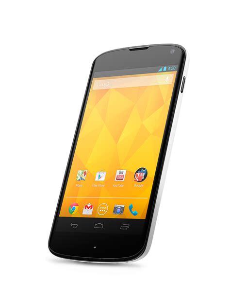 lg nexus 4 white smartphone introduced news