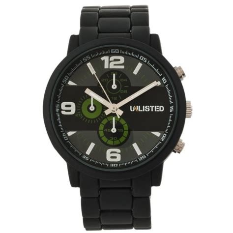 unlisted watches s ul1235 city streets black
