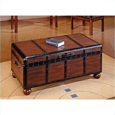 trunk ottoman trunk ottoman 44 quot wx24 dx19h storage ottomans pinterest