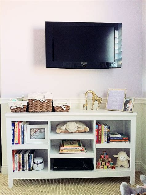 target carson bookcase as entertainment center i don t