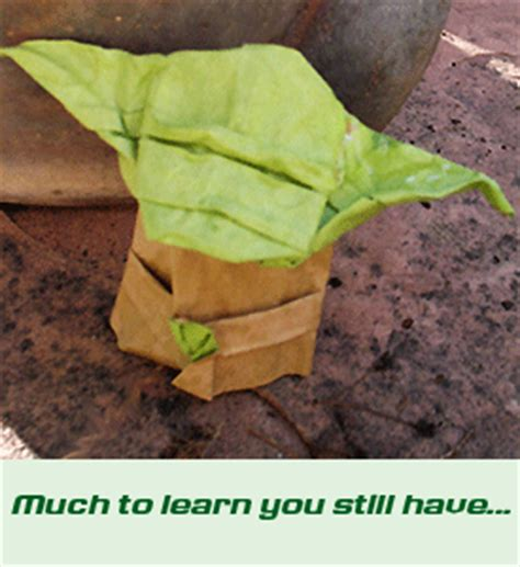 Advanced Origami Yoda - the strange of origami yoda