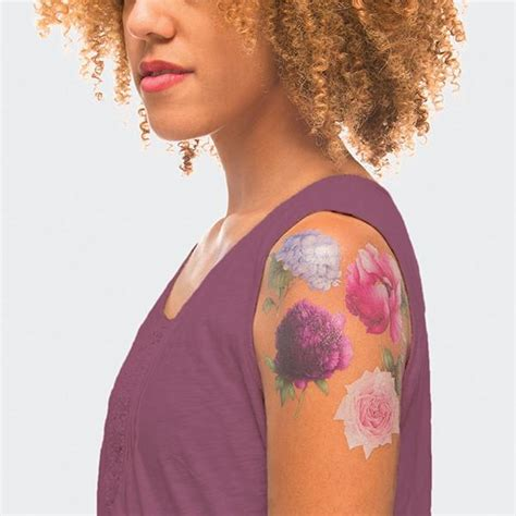 stop and smell the roses tattoo stop and smell the roses with these scented tattoos