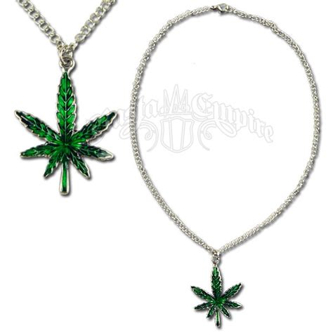 Wholesale Home Decor Online Marijuana Leaf Charm Necklace Rastaempire Com