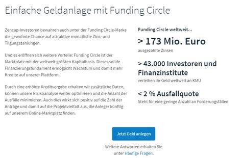 Test Musterbriefe Kreditgebühren Funding Circle Bzw Zencap Erfahrungen Kredite Test