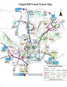 of carolina chapel hill cus map go transit go chapel hill