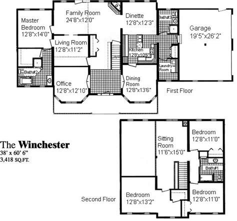 Winchester Mansion Floor Plan by Winchester House Floor Plan