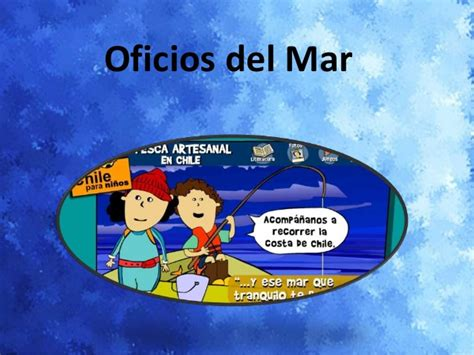 imagenes infantiles relacionadas con el mar power point oficios del mar