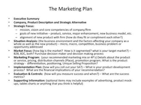 Advertising Caign Plan Outline by The Marketing Plan Outline